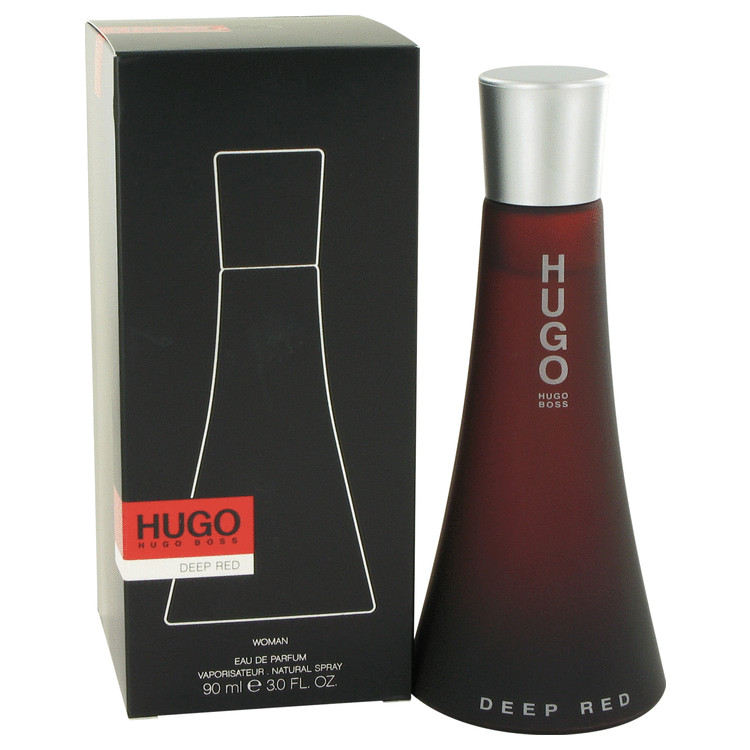 Hugo Deep Red by Hugo Boss Eau De Parfum Spray