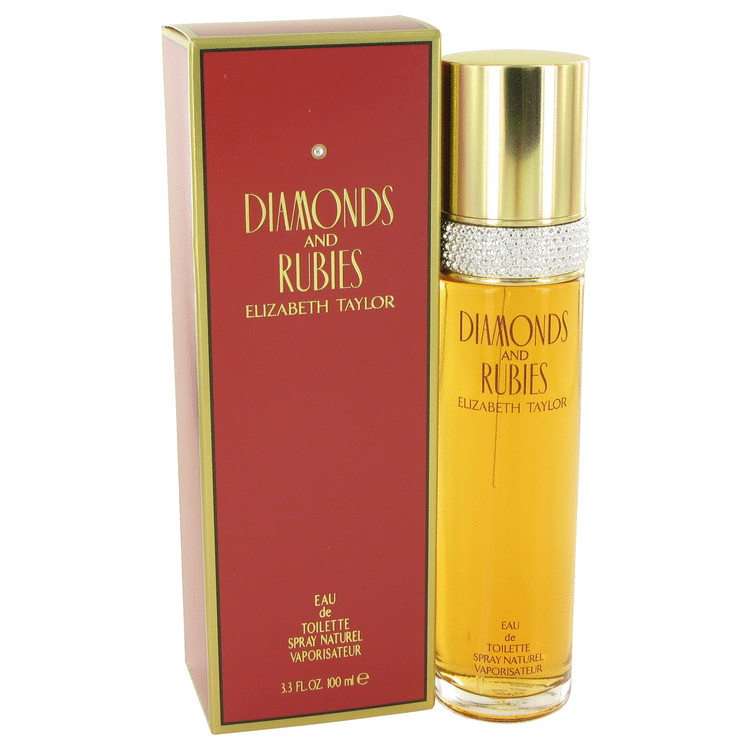 Diamonds & Rubies by Elizabeth Taylor Women's Eau De Toilette Spray 3.4 oz