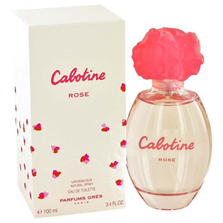 Cabotine Rose by Parfums Gres Women's Eau De Toilette Spray 3.4 oz