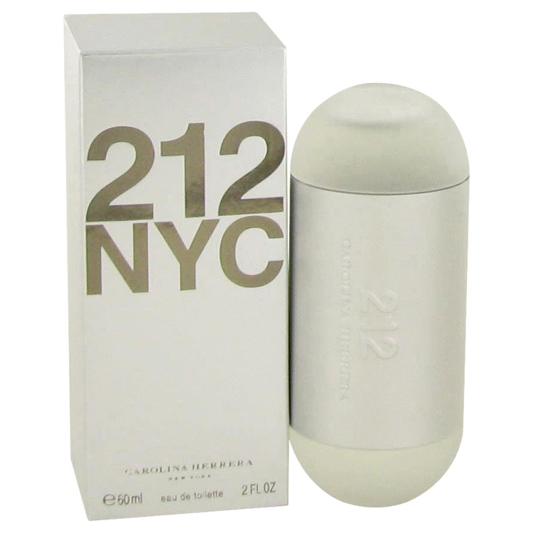 212 by Carolina Herrera Women's Eau De Toilette Spray (New Packaging) 2 oz