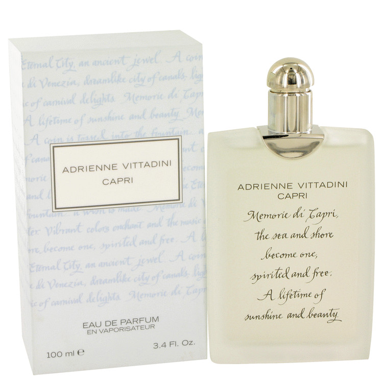 Capri by Adrienne Vittadini Women's Eau De Parfum Spray 3.4 oz