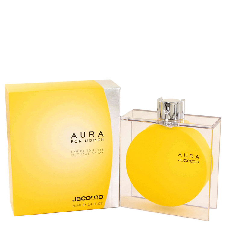 Aura by Jacomo Women's Eau De Toilette Spray 2.4 oz