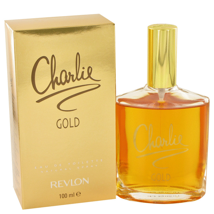 Charlie Gold by Revlon Women's Eau De Toilette Spray 3.3 oz