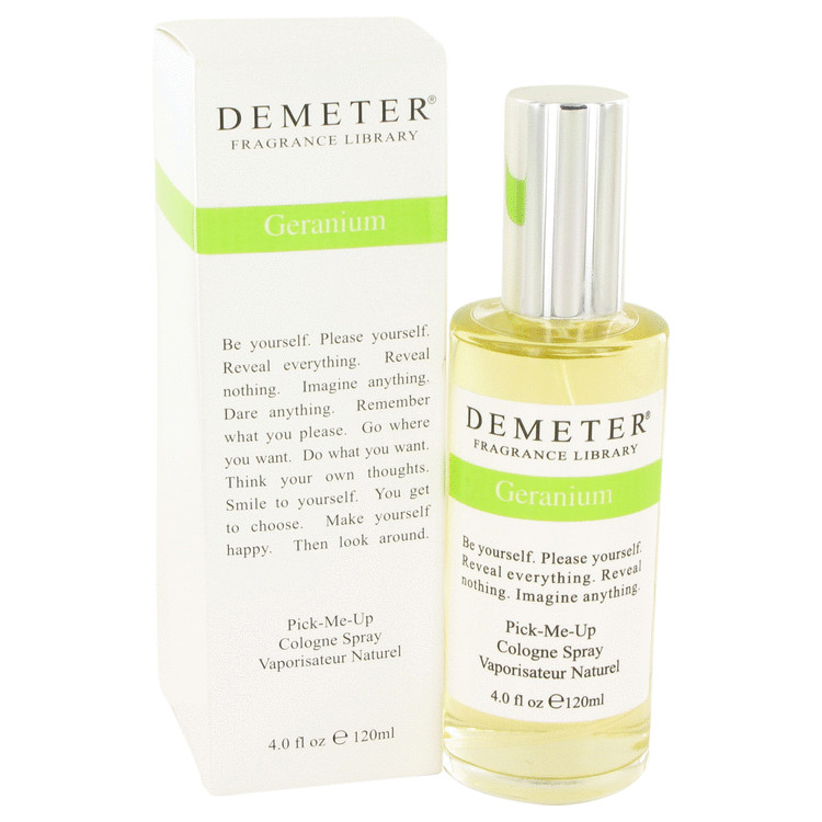 Demeter Geranium by Demeter Women's Cologne Spray 4 oz