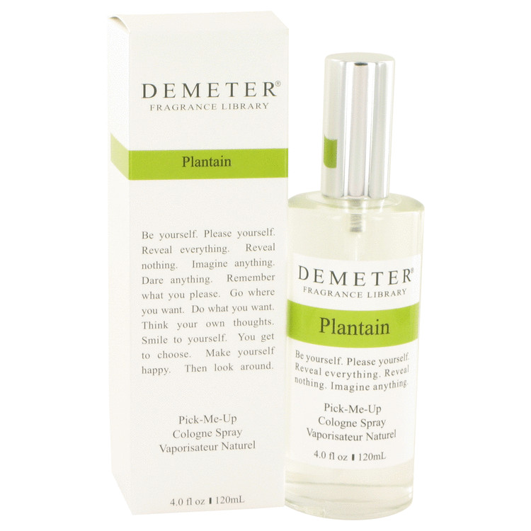 Demeter Plantain by Demeter Women's Cologne Spray 4 oz