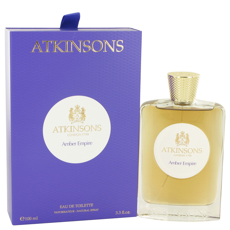 Amber Empire by Atkinsons Women's Eau De Toilette Spray 3.3 oz