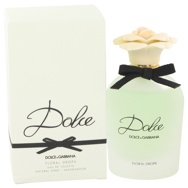 Dolce Floral Drops by Dolce & Gabbana Women's Eau De Toilette Spray 2.5 oz