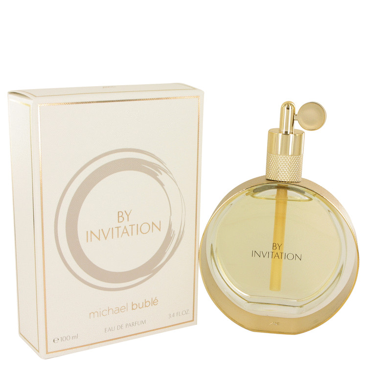 By Invitation by Michael Buble Women's Eau De Parfum Spray 3.4 oz