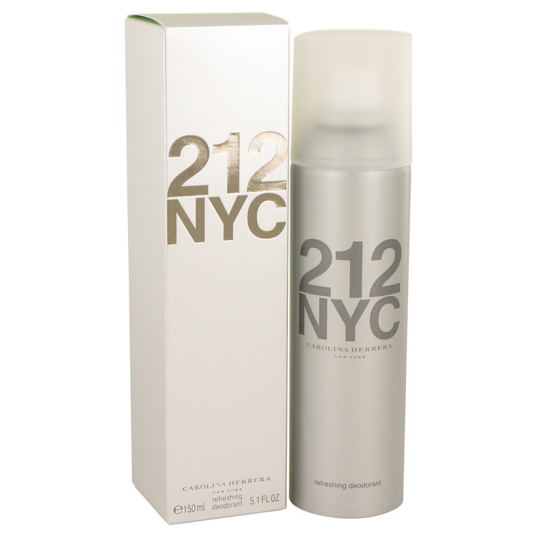 212 by Carolina Herrera Women's Deodorant Spray 5.1 oz