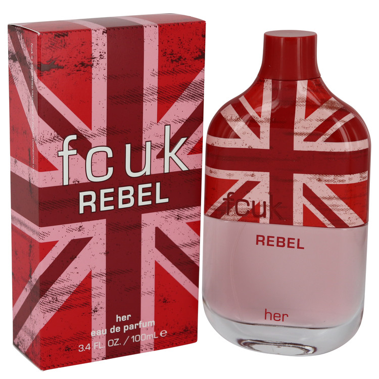 Fcuk Rebel by French Connection Women's Eau De Parfum Spray 3.4 oz