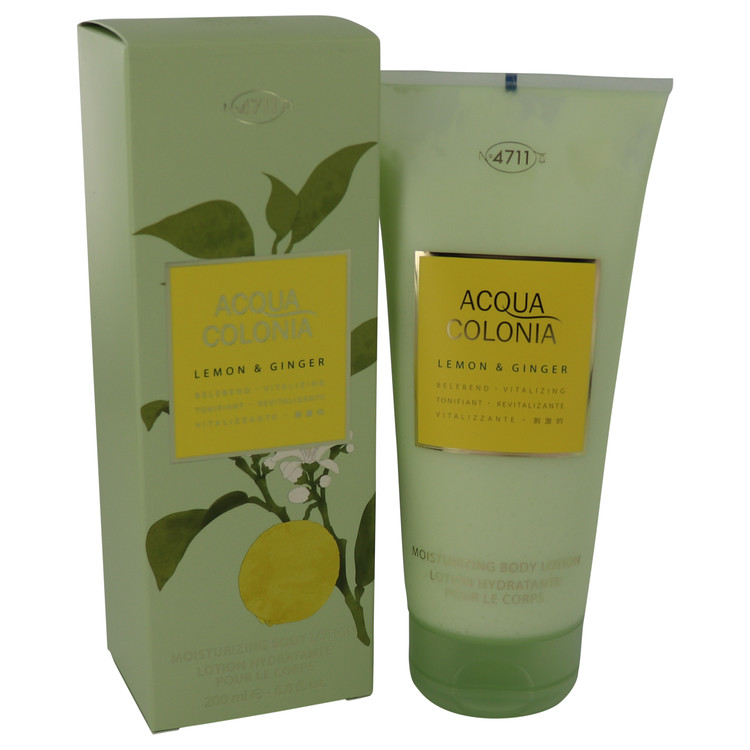 4711 Acqua Colonia Lemon & Ginger by 4711 Women's Body Lotion 6.8 oz