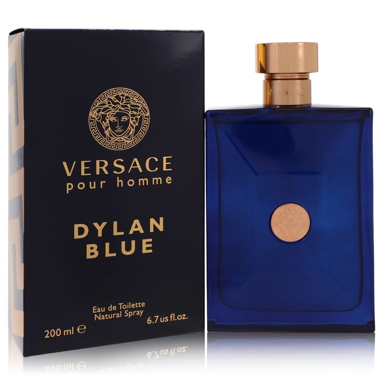 Versace Pour Homme Dylan Blue by Versace Men's Eau De Toilette Spray 6.7 oz
