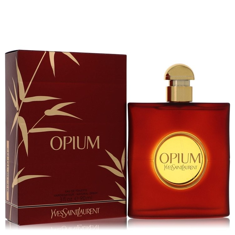 Opium by Yves Saint Laurent Women's Eau De Toilette Spray (New Packaging) 3 oz