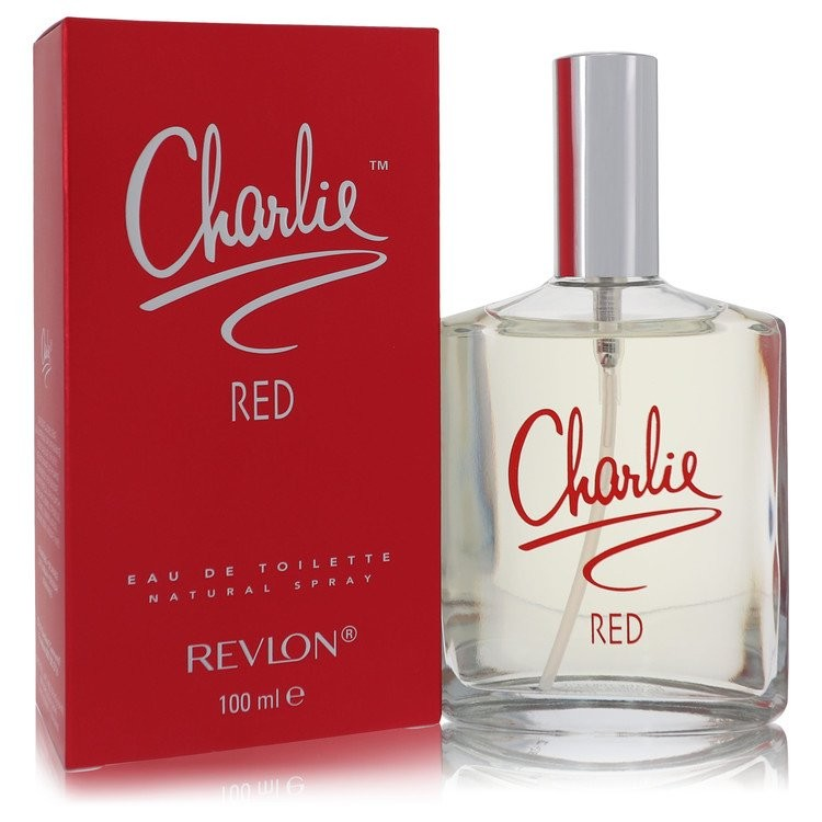 Charlie Red by Revlon Women's Eau De Toilette Spray 3.3 oz