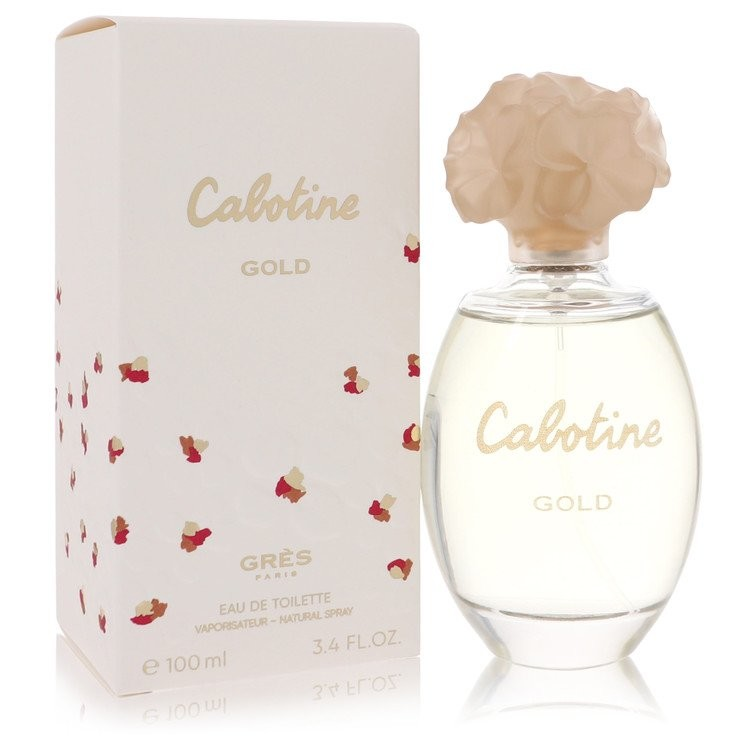 Cabotine Gold by Parfums Gres Women's Eau De Toilette Spray 3.4 oz