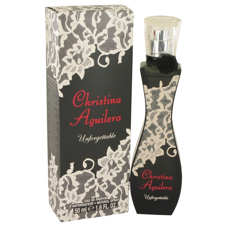 Christina Aguilera Unforgettable by Christina Aguilera Women's Eau De Parfum Spray 1.7 oz