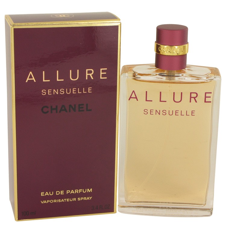 Allure Sensuelle by Chanel Women's Eau De Parfum Spray 3.4 oz